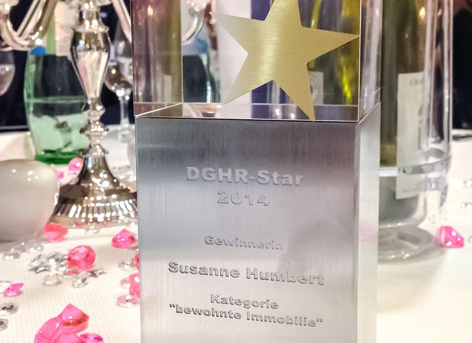 Siegerpokal Susanne Humbert
