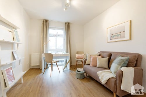 Musterwohnung für 28 Neubau-Wohnungen in Gelsenkirchen