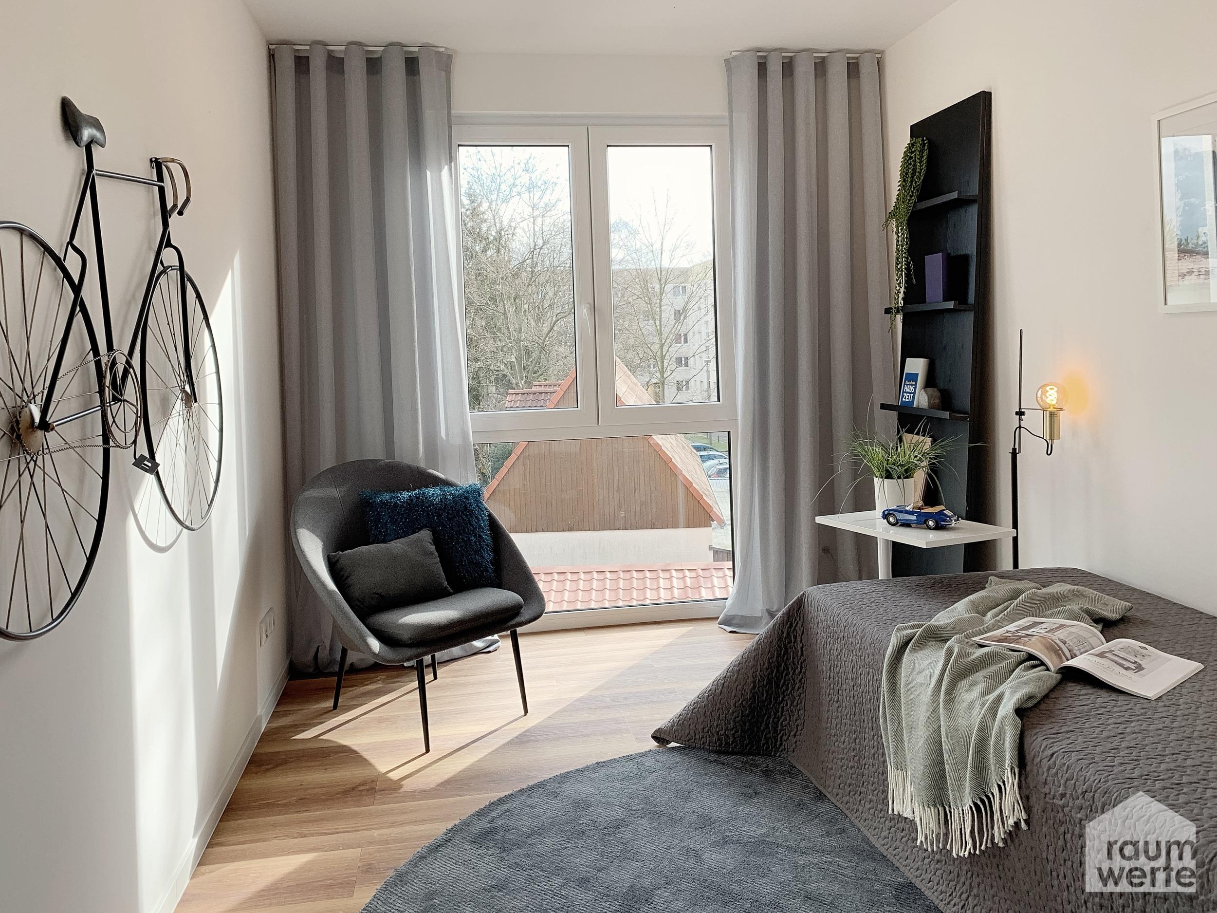 Hochwertige Musterwohnung für die Vermietung in Dresden